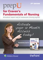 PrepU for Craven's Fundamentals of Nursing