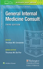 Washington Manual® General Internal Medicine Consult
