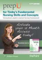 PrepU for Timby's Fundamental Nursing Skills and Concepts