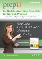 PrepU for Dudek's Nutrition Essentials for Nursing Practice