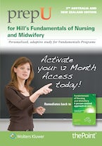 PrepU for Hill's Fundamentals of Nursing and Midwifery