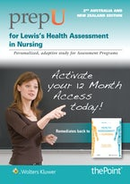 PrepU for Lewis's Health Assessment in Nursing Australia and New Zealand Edition