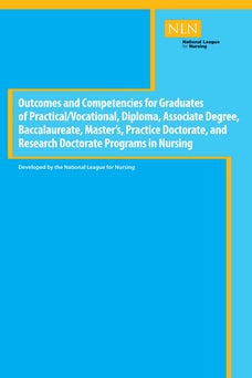 Outcomes and Competencies for Graduates of Practical/Vocational, Diploma, Baccalaureate, Master