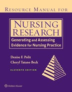 Resource Manual for Nursing Research