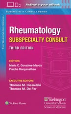 Washington Manual Rheumatology Subspecialty Consult