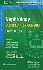 Washington Manual Nephrology Subspecialty Consult