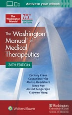 Washington Manual of Medical Therapeutics Spiral