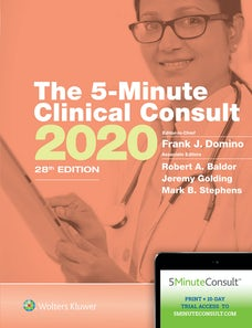 The 5-Minute Clinical Consult 2020